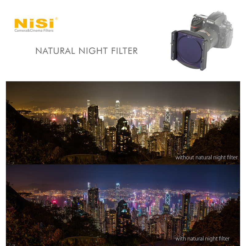 NiSi Natural Night filter effect