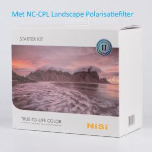 NiSi Starter Kit II met Landscape NC-CPL
